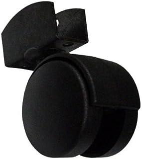 En forme de U double du support de roue pivotante 22 mm Ø 40 mm roue 2pz