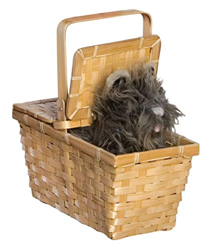 Wizard of oz Dorothy#039s Toto In A Basket