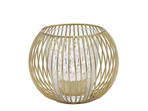 A Simple Mess lantaarn Rorvik H: 10cm, Ø12cm van bamboe natuur