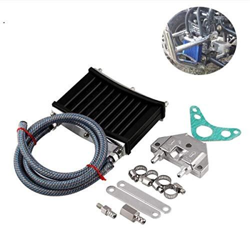 Motorfiets Wijziging Accessoires Universele Aluminium Motorolie Radiator Set Voor 125cc / 140cc / 150cc Motorfietsen Motorfiets onderdelen te koop