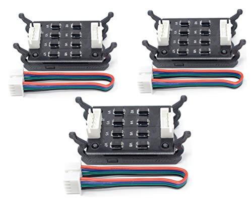 Amazing Wink, 3 Moduli TL-Smoother per Eliminare la Trama'Salmon Skin', Controller per i Driver dei Motori di Stampanti 3D + SUPPORTO STAMPABILE IN 3D (OMAGGIO)