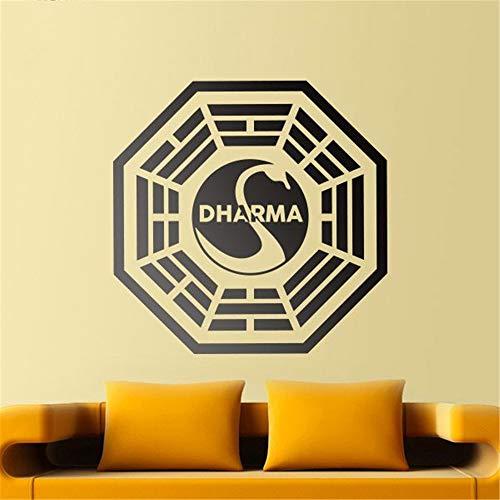 pegatinas de pared harry potter Iniciativa Dharma para la sala de estar dormitorio