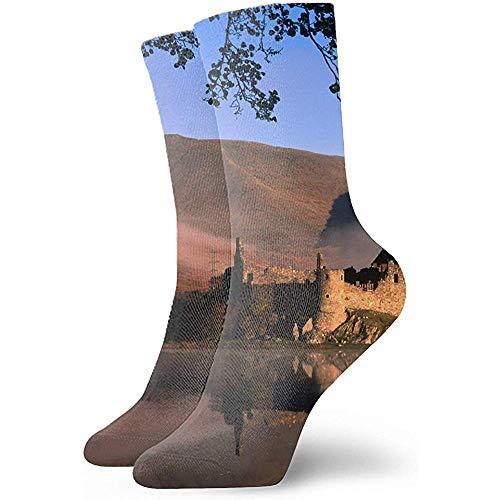 Gre Rry Keks-Schüssel-Rosinen, die Art Personality Fashion Casual Socks drucken