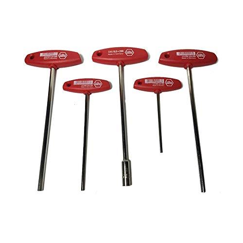 Husqvarna 504900006 T-Handle Allen key 3, 4, 5, and 6 mm Socket wrench 8mm Set