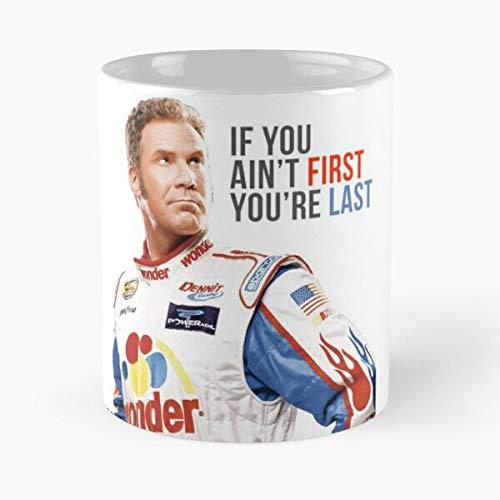 Movie Racing Meme Talladega Films Citaten Bobby Ricky Beste 11oz Keramische Koffie Mok Eten Eten Bijten John Best 11oz Keramische Koffie Mok!