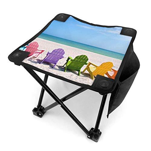 End Nazi Tabouret de Camping chaises Pliantes Summer Beach Chaises colorées Siège de Chaise Portable