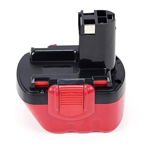 POWERGIANT 12V 3.0Ah Ni-MH Batería para Bosch PSR 12V PSR 12VE-2 GSR 12-2 GSR 12VE-2 PSB 12VE-2 2607335273 2607335709 2607335430 2607335261 BAT045