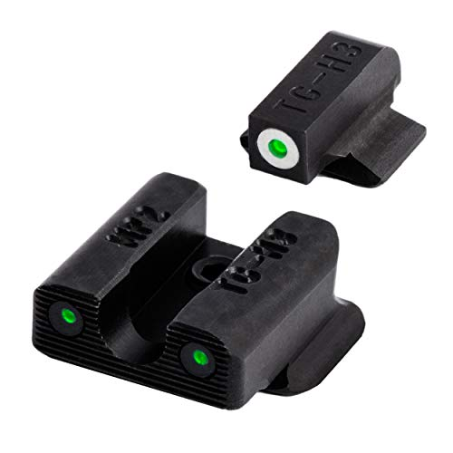 TRUGLO Tritium Pro Glow-in-The-Dark Handgun Night Sights for Smith & Wesson Pistols