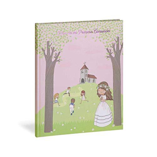 Busquets Libro comunion Musical Castellano Niña Iglesia by
