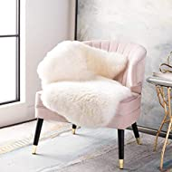Safavieh Sheep Skin Collection SHS121A Handmade Rustic Glam Genuine Pelt 3.4-inch Extra Thick Accent Rug, 2' x 3', White