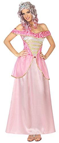 Atosa 29014 Costume Principessa Rosa Adulto T2 ML