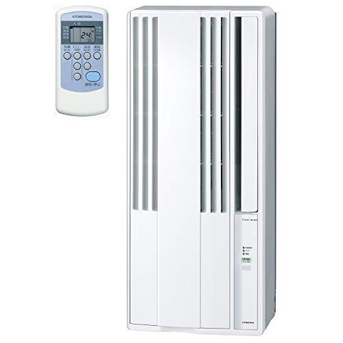 【工事不要】 CORONA(コロナ) ウインドエアコン (冷房専用タイプ) 液晶リモコン付 シェルホワイト CW-16A(WS)