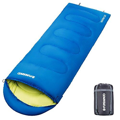 FUNDANGO Lightweight Outdoor Camping Backpacking Hiking Sleeping Bags for Adults Men Women Youth Kids Girls Boys