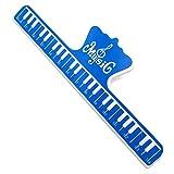 2 soportes universales para guitarra violín, instrumento musical, accesorios YS-BUY (color azul).