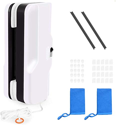 Magnetic Window Cleaner Double-Sided for Double Glazed Windows,0.2'-1' Window...