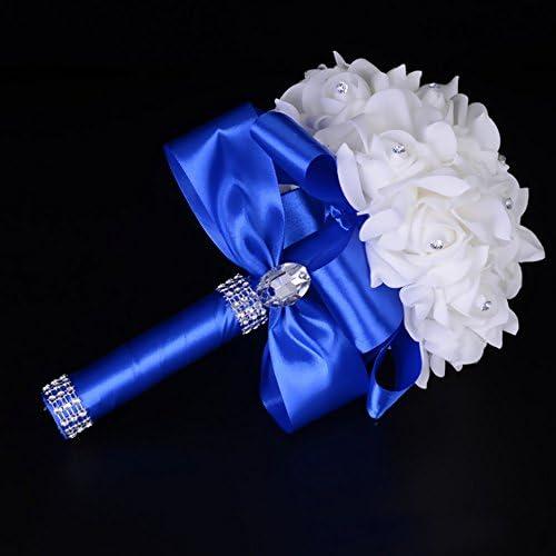 Royal blue bouquet _image4
