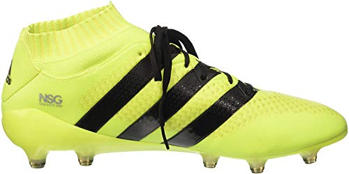 adidas Herren Ace 16.1 Primeknit S76470 Fussballschuh, Multicolore SYELLO Cblack Silvmt, 42 EU