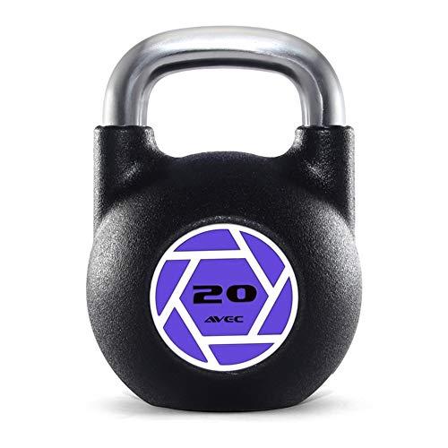 Kettlebell HAHA Completamente De Acero De Fitness Pesas Rusas (20 Kg, 24 Kg, 28 Kg) For Aptitud Mayo
