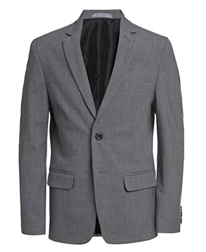 Van Heusen Boys Flex Stretch Suit Jacket, Oxford Grey, 16 Husky