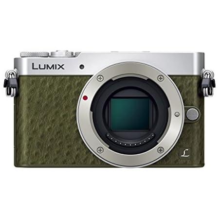 パナソニック ミラーレス一眼カメラ GM5 ボディ グリーン DMC-GM5-G