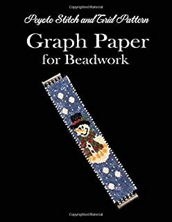 Peyote Stitch and Grid Pattern Graph Paper for Beadwork: Beading Grid Paper for Small Projects