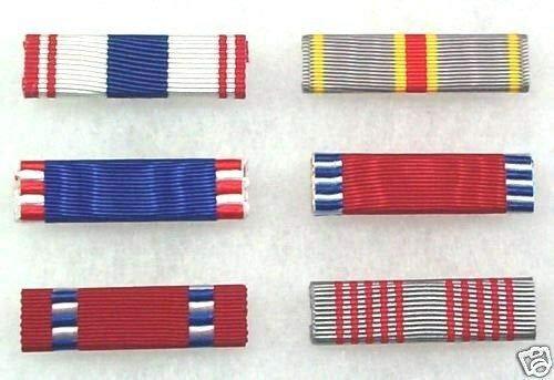 SMK US Army ROTC and JROTC Cadet Medal Ribbons Set of 6