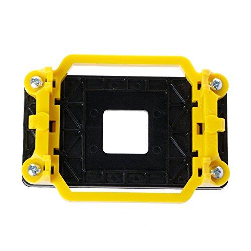 Ixkbiced Soporte de la Placa Base del Soporte de la Base del Ventilador de refrigeración del radiador de la CPU para AMD AM2 / AM3 / FM1 / FM2 / 940