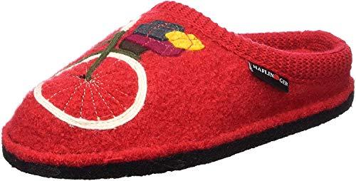 Haflinger Flair Radl, Pantoufles Femme Rouge (rubin 11) 38 EU