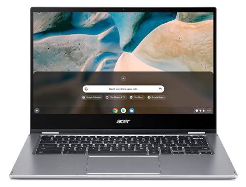 Acer Chromebook Spin 514 CP514-1H-R6YG Ordinateur Portable Tactile Convertible 14'' Full HD, PC Portable (AMD Ryzen 3 3250U, RAM 4Go, 64Go eMMC, AMD Radeon Graphics, Chrome OS) - Clavier AZERTY