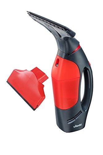 Vileda Windomatic Power Fenstersauger, Kunststoff, rot/schwarz, 15x27x33.5 cm