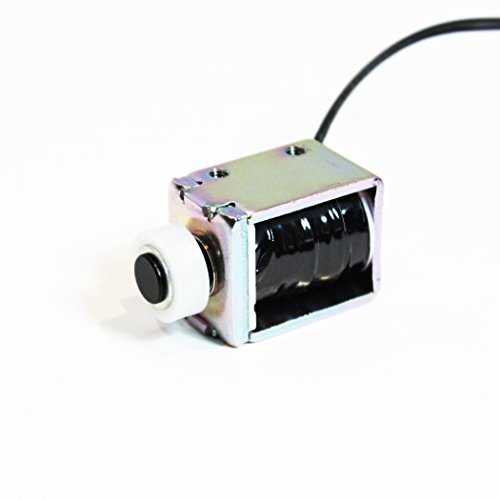 Uxcell Push Pull Type DIY DC Electromagnet Magnet Solenoid 10 mm 6N DC 6V 0.8A a15080400ux0391