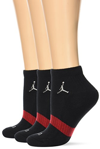 Nike Jordan DRIFIT Low QTR. 3PPK - Socken Unisex, Schwarz, L