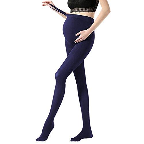 Vellette Strumpfe & Strumpfhosen Opaque Umstandsstrumpfhose Unterstutzung Leggings Mutterschaft Hose fur alle Phasen der Schwangerschaft Damen 180D