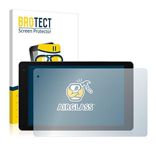 BROTECT Panzerglas Schutzfolie kompatibel mit Medion Lifetab X10607 (MD 60658) - AirGlass, extrem Kratzfest, Anti-Fingerprint, Ultra-transparent