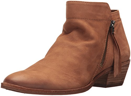 Sam Edelman Women's Packer Ankle Boot, Deep Saddle Leather, 6 Medium US