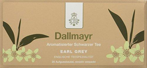 Dallmayr Tee Aufgussbeutel - Earl Grey, 1er Pack (1 x 43,75 g)