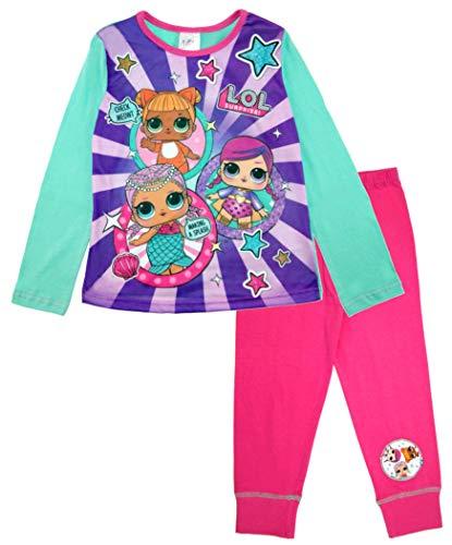 L.O.L Surprise ! Mädchen Schlafanzug Pink Rose Gr. 4-5 Jahre, Multi
