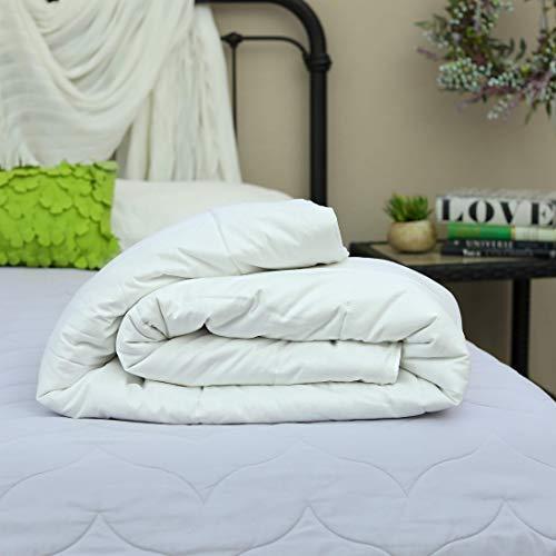 Silk Bedding Direct Edredón Relleno de Seda de Morera. Tamaño Queen. Peso de Primavera/Otoño. Hipoalergénico. 225cm x 220cm. CERTIFICACIÓN: Oeko-Tex® Standard 100. Precio DE Venta BAJO