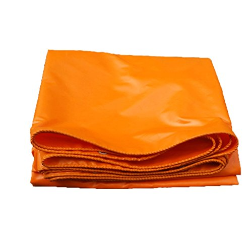 YNLRY Orange Plane Regenjacke wasserdichte Sonnencreme Plane Dreirad Sonnencreme Plane Markise Plane, Dicke 0,32 Mm, 420 G / M2, 14 Größenoptionen (Size : 3x3m)