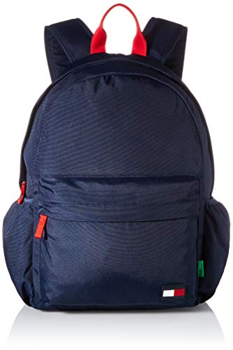 Tommy Hilfiger Unisex Kid's CORE Backpack, Twilight Navy, One Size