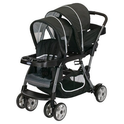 Ready2grow Click Connect Double Stroller Licorice
