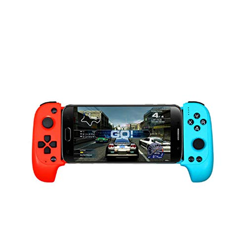 Manette de Jeu Gamepad sans Fil Bluetooth Joypad Joystick pour Extendable Android/iOS Phone Tablet PC Windows,B