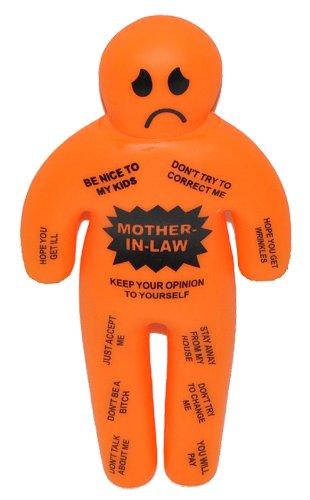 alles-meine.de GmbH Voodoo Puppe - Schwiegermutter - Spaß Puppe - Mother in Law / Schwieger Drache - Doll - lustige Figur für typische Probleme