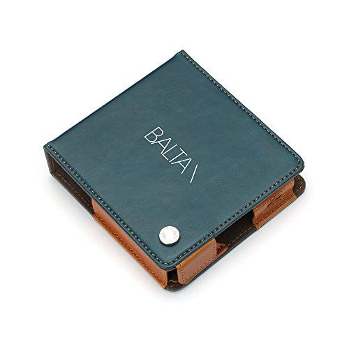 PGA IQOS対応 フリップカバー 手帳型 マグネットロック カードポケット付き BALTAN / ブルー PG-IQFP1P53BA