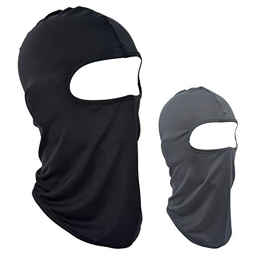 VIVOTE Balaclava Face Mask Ski mask Neck Gaiter Outdoor Sports Cycling 2 Pack