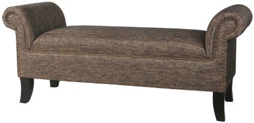 Yorke Polyster Roll Arm Bedroom Bench Buy Online In Burkina Faso At Burkinafaso Desertcart Com Productid 11651706