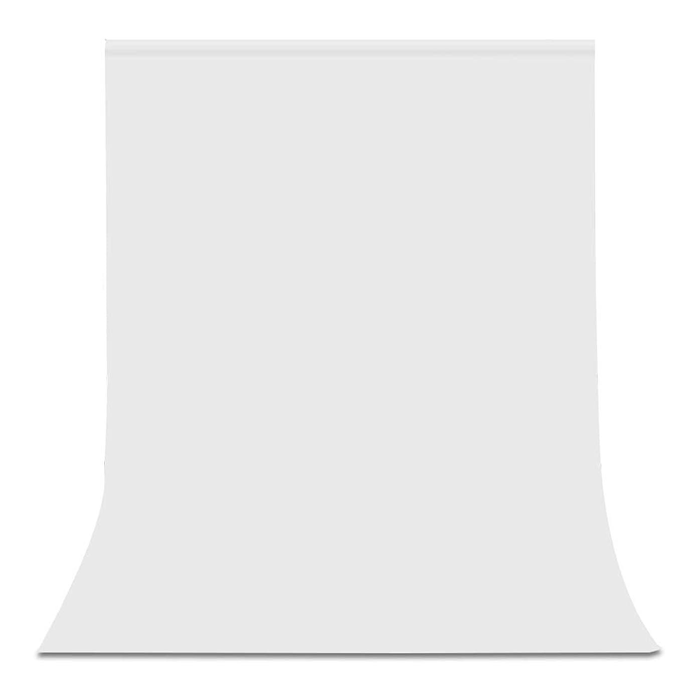 集計滝花嫁UTEBIT 背景 白 布 ポリエステル 生地 1.5m x 2.0m 背景紙 ホワイト 撮影 背景 スタンド 横ポール対応 バックスクリーン 写真撮影用 折りたたみ 撮影やビデオに対応 150 x 200cm