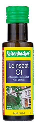 Seitenbacher Bio Leinöl, rein nativ, kaltgepresst und 1. Pressung