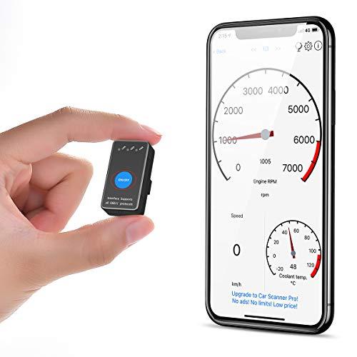 Autogenie Connect UVM Appareil de Diagnostic Automobile Code de Lecture Autogenie Autocheck OBD2 C/âble dextension 16 Broches Compatible avec BerryKing Autoscan Blue /& WiFi