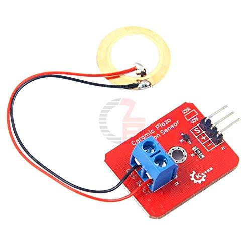 Analog Vibration Sensor Ceramic Piezo for Arduino